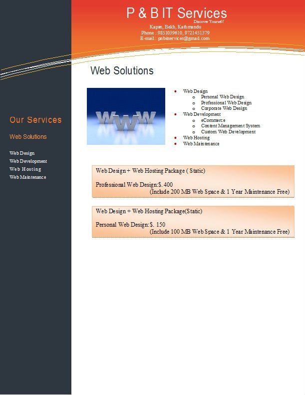 Software, Web Solutions, AMC, Outsourcing