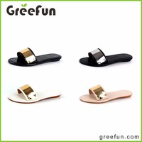 2016 Trending Products Fashion Hot Selling Beach Flat Shoe Woman Slipper Sandals Shoes Women