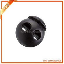Supply all kinds of plastic rubber cord lock and end stopper