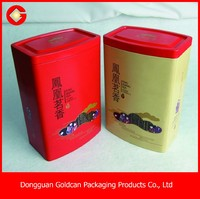food grade tin can container with lid