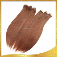 2015 Best Selling Wholesale African/ American Hair Products, Russian Remy Hair Extensions, Tape Hair Extensions