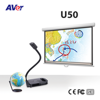 document scanner, 5M, 30ftps, full HD 1080p, AVer USB FlexArm Visualizer (Document Camera), AVerVision U50