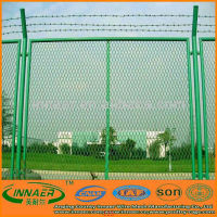 Galvanized / PVC Coated Chain Link Fence Factory Prices