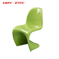 "Latest design China suppliers durable outdoor furniture chair plastic chair with ""S"" model"