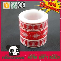 custom design washi tape christmas decorations