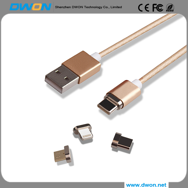 Top 3 factory Good price of magnetic usb 3.0 cable For Android/Iphone fast charging magnetic cable charger