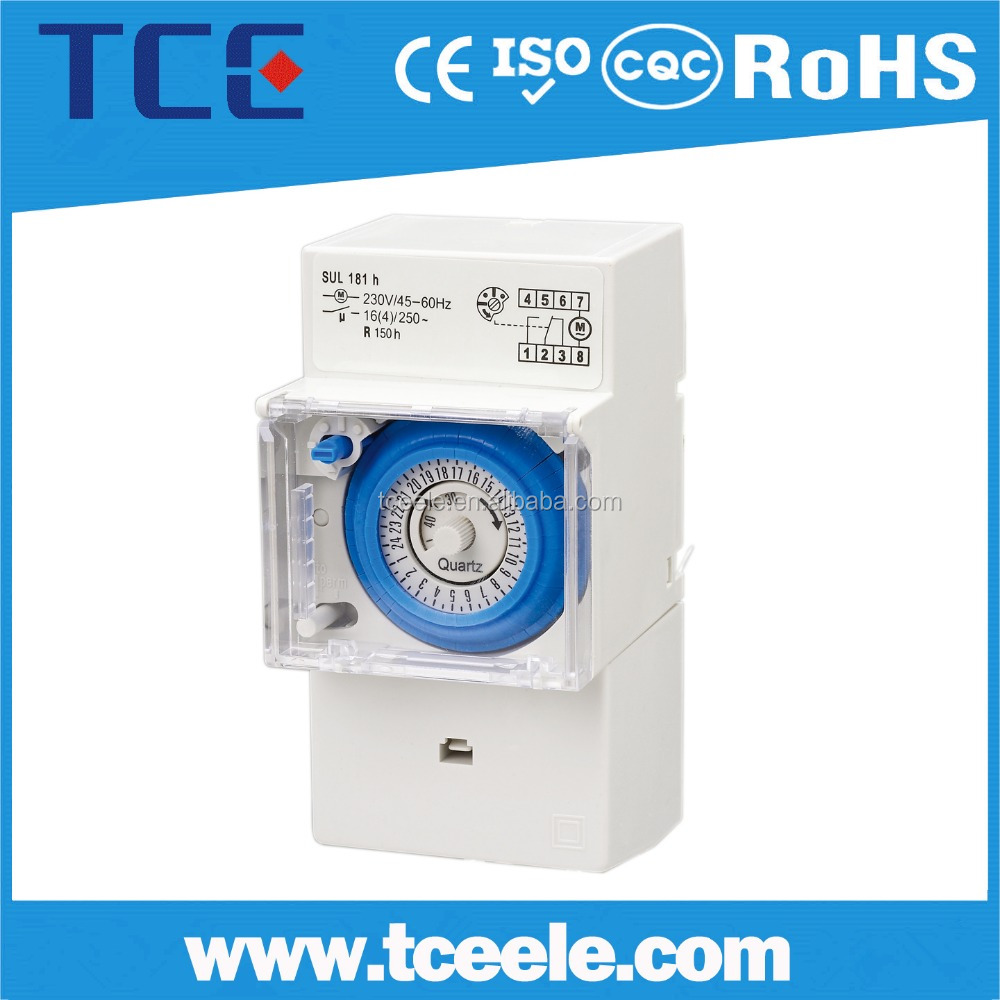 Automatic Programmable timer switch , 24 hour timer switch