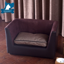 Luxury Dark Brown Functional Ped Dog Sofa Bed