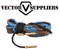 Vector Optics 9mm Cal Rifle Barrel Bore Snake Rope Cleaner Gun Cleaning Kit w/ Bronze Brush Gun Oil Can be Washed
