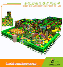 Durable popular use kids indoor play gym children indoor playground