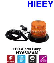 High Quality 10W led alarm warning light truck led beacons rotating led flash emergency light with amber lens