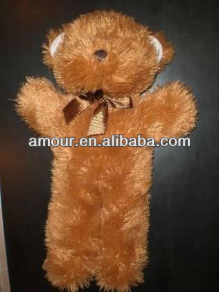 2012 soft christmas bear stuffed brown cuddly ted bear new hot toys for kids wholesale