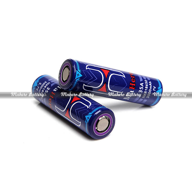 100% authentic Discharge mahero imr 18650 3000mah battery stock soon vs USA Busbars 18650 Battery