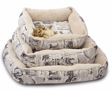 Fuxi Fashion Pet Bed Cushion Dog Cat Warm Mat Soft Pad Nest For Crate House FX-DB-5