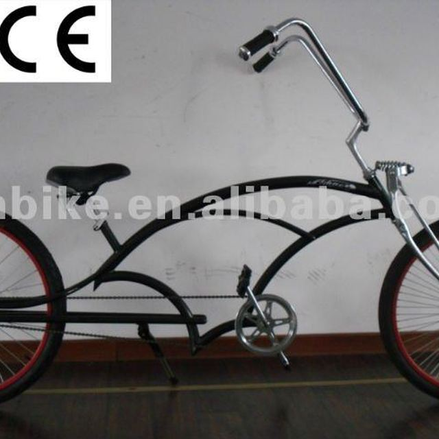 26-26 length chopper style beach cruiser bike
