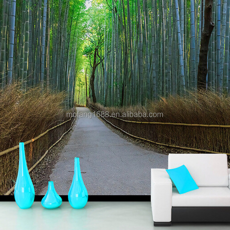 Home wallpaper bamboo designs 3d murals wall papers leather wall panels