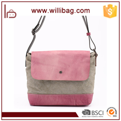 High Quality Fancy Lady Sling Bag Vintage Women Messenger Bag