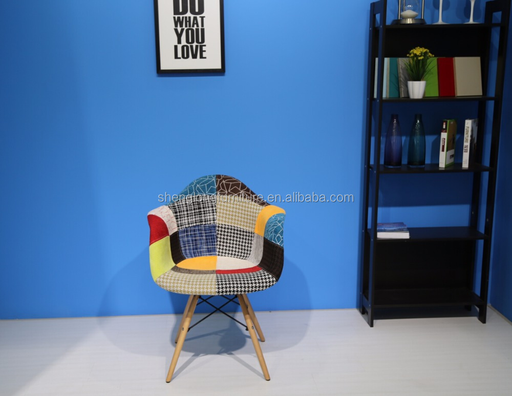 modern fabric barcelona leisure dining chair