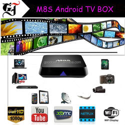 New Products 2016 Better Than Minix Neo x8-h Plus m8s Android Tv Box
