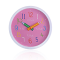 Hot selling Plastic Cheapest kids tell time wall clocks collections