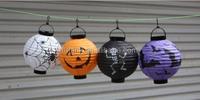 Amazing Cool Halloween Pumpkin Light Hang Paper Lantern Lamp Outdoor Decor
