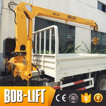 Hot sale low price hydraulic crane for trucks