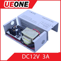 High-vual 12v 3a switching power supply for door access control system