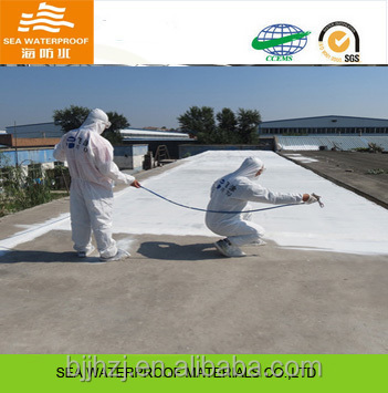 Heat Insolation polyurethane roof waterproof coating