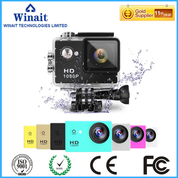 winait HD 1080p Waterproof Action Camera with 2.0'' TFT display Sports camera