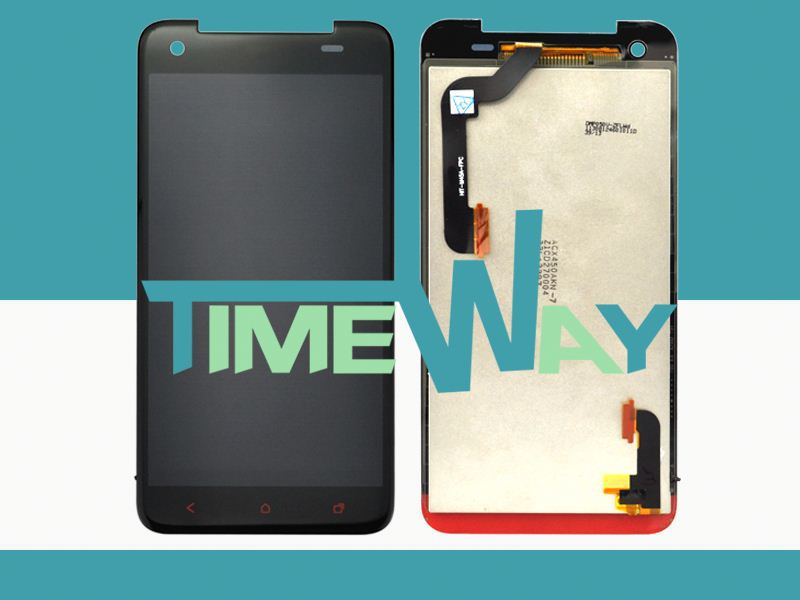 Factory price and wholesale for htc butterfly x920e lcd display with digitizer touch screen