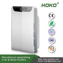 Modern sharp ionizer, HEPA filter air cleaner for bad smell