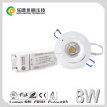 Norway design CRI 85 led downlight with 85mm cutout IP44