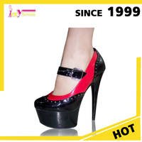 PU & PVC Insole Beautiful Elegant Pictures Sexy High Heel platform Women sexy shoes