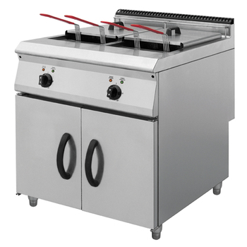 Stainless steel industrial electric deep fat fryer with cabinet /kitchen equipment BN900-E801