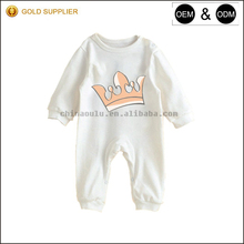 YF7730 long sleeve baby clothing bamboo newborn baby romper oulu