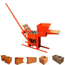 Hand Press Operated Manual Compressed Earth Block Making Machine Price Interlocking Block Brick Machine