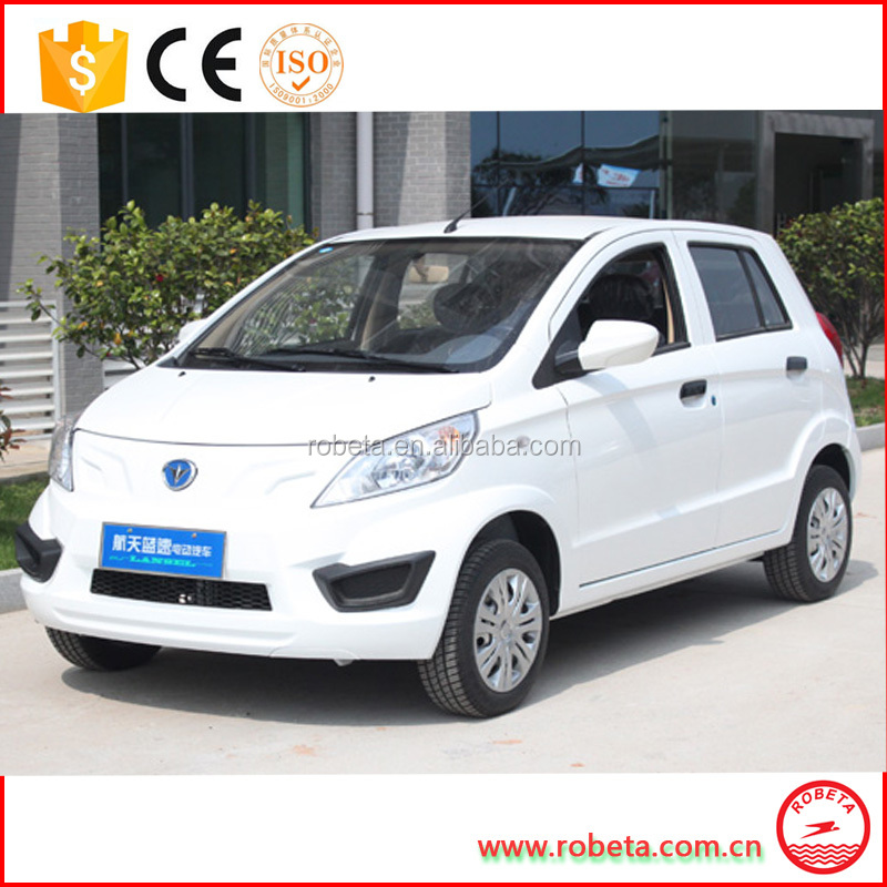 2016 good sale high quality 7.5kw four wheeler passenger electric cars for sale