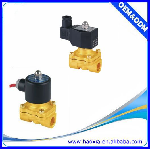 high quality brass 1/2 inch one-way solenoid valve
