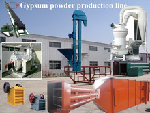 high quality plaster of paris powder making machine