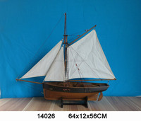wooden ship model, hand craft, home decoration and gift, ANTIQUE BROWN FINISH, FREE SAMPLE