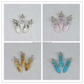 Wholesale Gemstone Sword Shape Pendant For Necklace Or Jewelry Making