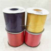 Wholesale 100% Polyester 1/8 inch Single Face Ribbon Satin, Single Side Satin Ribbon