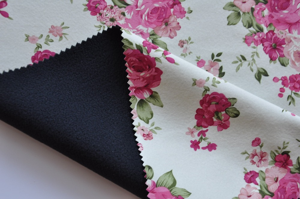 100% polyester polar fleece fabric TPU coated