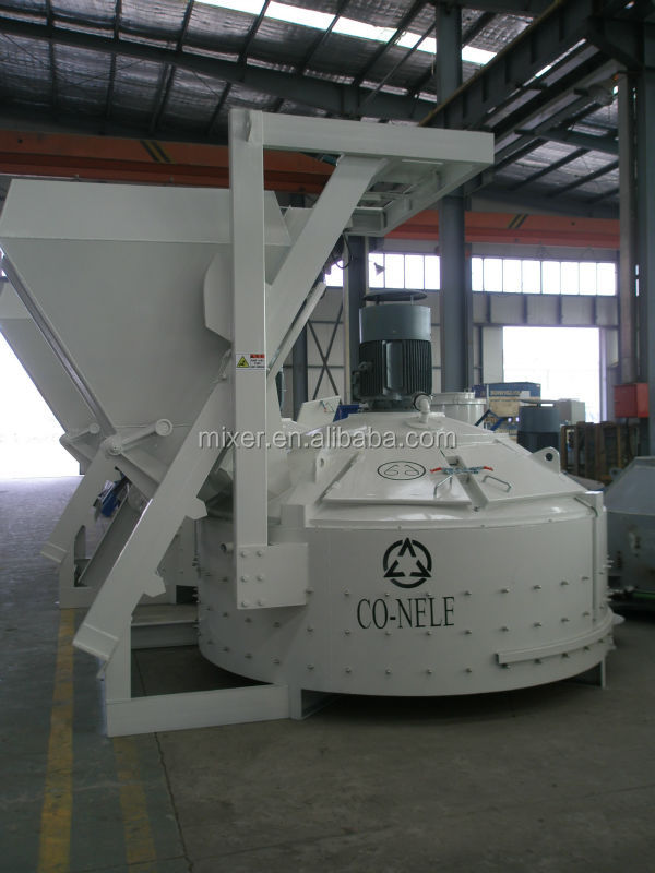 MP2000 Concrete/Sleeper/Refractory/Brick/Pipe/Planetary Mixers
