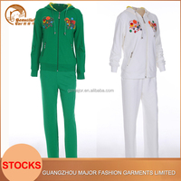 OEM customizing top design latest design tracksuit design your own tracksuit with short sleeve t shirt