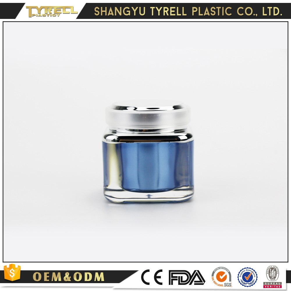 High Tenacity Travel Container Bottle Acrylic Cosmetic Jar