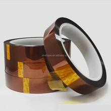 280 Celsius Heat Resistant Insulation Silicone Adhesive Polyimide Tape For 3D Printing For Wave Soldering Protection