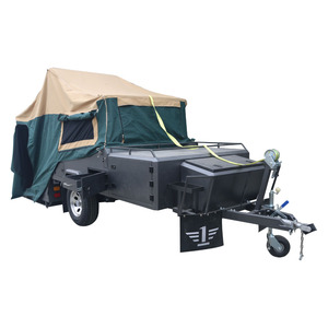 High Quality Mini Buy Cheap Camper Trailers in Vans For Sale with Bedding Area