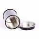 Mini small round chinese tea gift tin can box