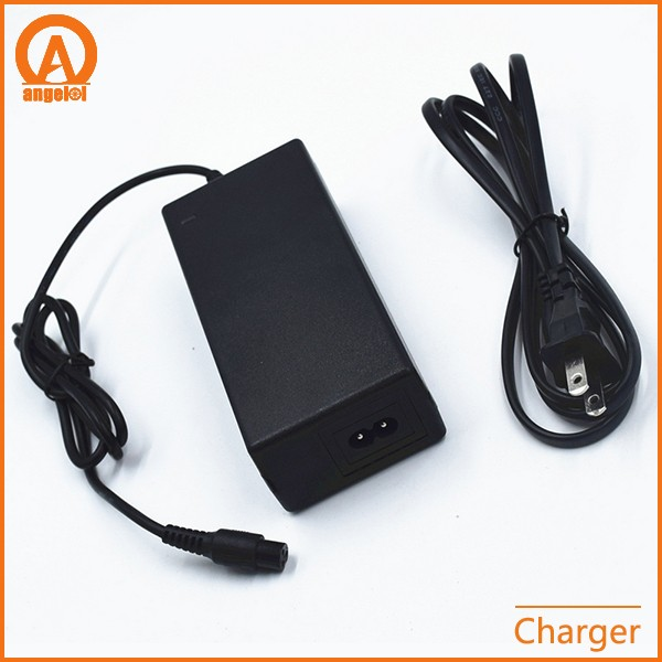 Smart 42V Electric 2A Battery Charger for Self Balancing Scooter 2-wheel Hover Board Battery 36v Charger w/Charging